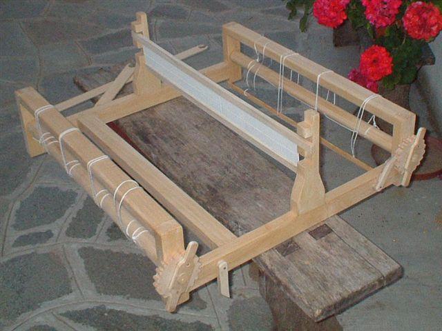 Telaio pettine liccio modificare una pelliccia - Telaio da tavolo per tessitura a mano ...