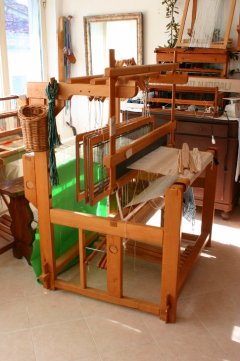 Foto degli imparaticci realizzati dalle allieve e dagli allievi di marilena che hanno - Telaio da tavolo per tessitura a mano ...